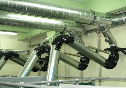 Центральная система фильтрации для сварочного поста