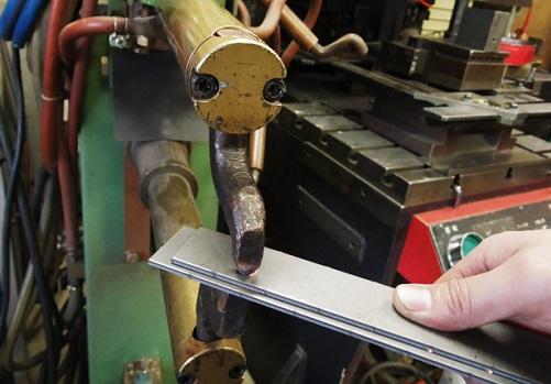 Контактная сварка низкоуглеродистых оцинкованных сталей