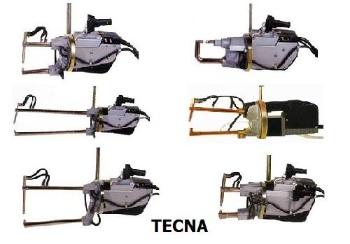 Сравнение популярных моделей. Подвесные клещи для точечной сварки Tecna