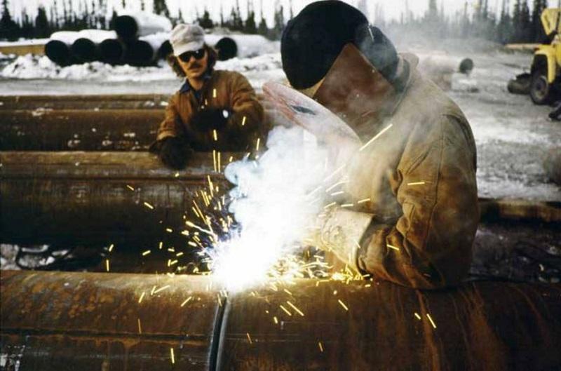 Трансаляскинский трубопровод - сварка
