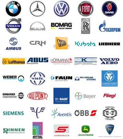 Компании, которые доверяют оборудованию EWM